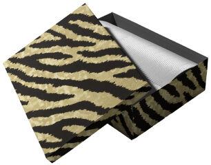 RÖMERTURM POMPÖÖS Boîte cadeau 'Gold Tiger', 210 x 310 mm