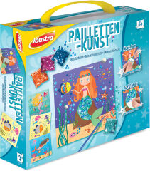 Joustra Kit de loisirs créatifs 'PAILLETTES ARTISTIQUES'