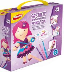Joustra Kit de loisirs créatifs ' DECORE TA PETITE PRINCESSE