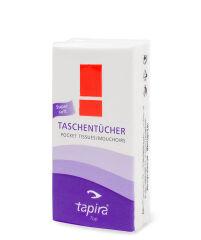 Tapira Mouchoirs Top, 4 plis, lot de 15, extra blanc