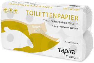 Tapira Papier toilette, 4 couches, paquet géant, extra blanc