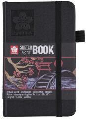 SAKURA Carnet de croquis, 130 x 210 mm, noir