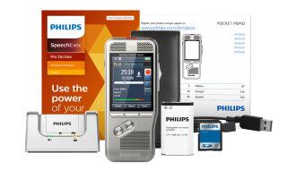 PHILIPS Dictaphone numérique Pocket Memo DPM8000/02