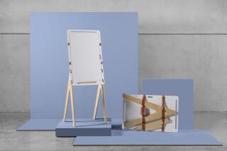 ARCHYI Tableau blanc Pico, (L)650 x (P)685 x (H)1.800 mm