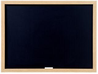 Bi-Office Tableau noir Optimum, 600 x 450 ml, chêne