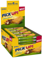 LEIBNIZ Barre biscuitée 'PiCK UP! Choco & Hazelnut'