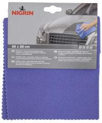 NIGRIN Chiffon à polir, (L)380 x (H)280 mm