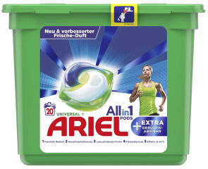 ARIEL Capsules All-in-1 Pods Universal +EXTRA anti-odeurs