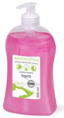 Tapira Savon pour mains rosé, 500 ml, flacon distributeur