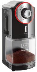 Melitta Moulin à café 'MOLINO', noir / rouge