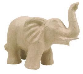décopatch Support en papier mâché 'Eléphant 2', 170 mm