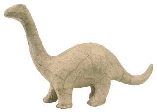 décopatch Support en papier mâché 'Brontosaure', 100 mm