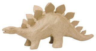 décopatch Support en papier mâché 'Stégosaure', 150 mm