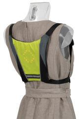 dufco sport Gilet cycliste à signalisation LED, vert clair
