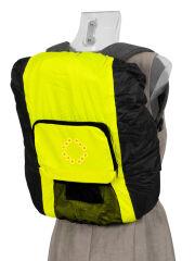 dufco sport Housse de sac à dos à signalisation LED, noir/