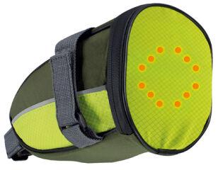 dufco sport Sacoche de selle à signalisation LED, vert clair