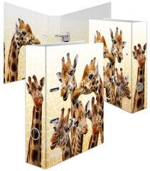 HERMA Classeur à levier 'Animaux exotiques', A4, girafes